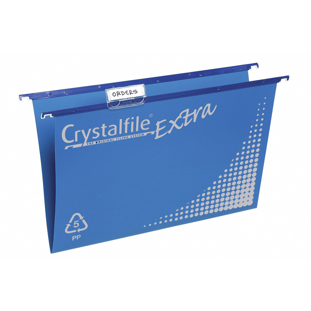 CRYSTALFILE SUSPENSION FILES PP Extra, Complete Blue