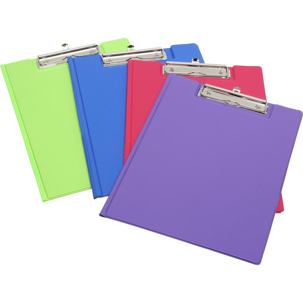 MARBIG SUMMER COLOR CLIPFOLDER A4 PVC Blue