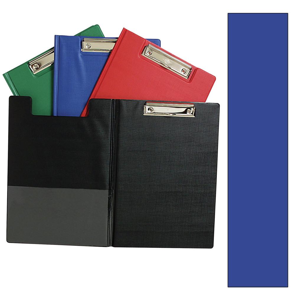 MARBIG PVC CLIPFOLDERS A4 Blue