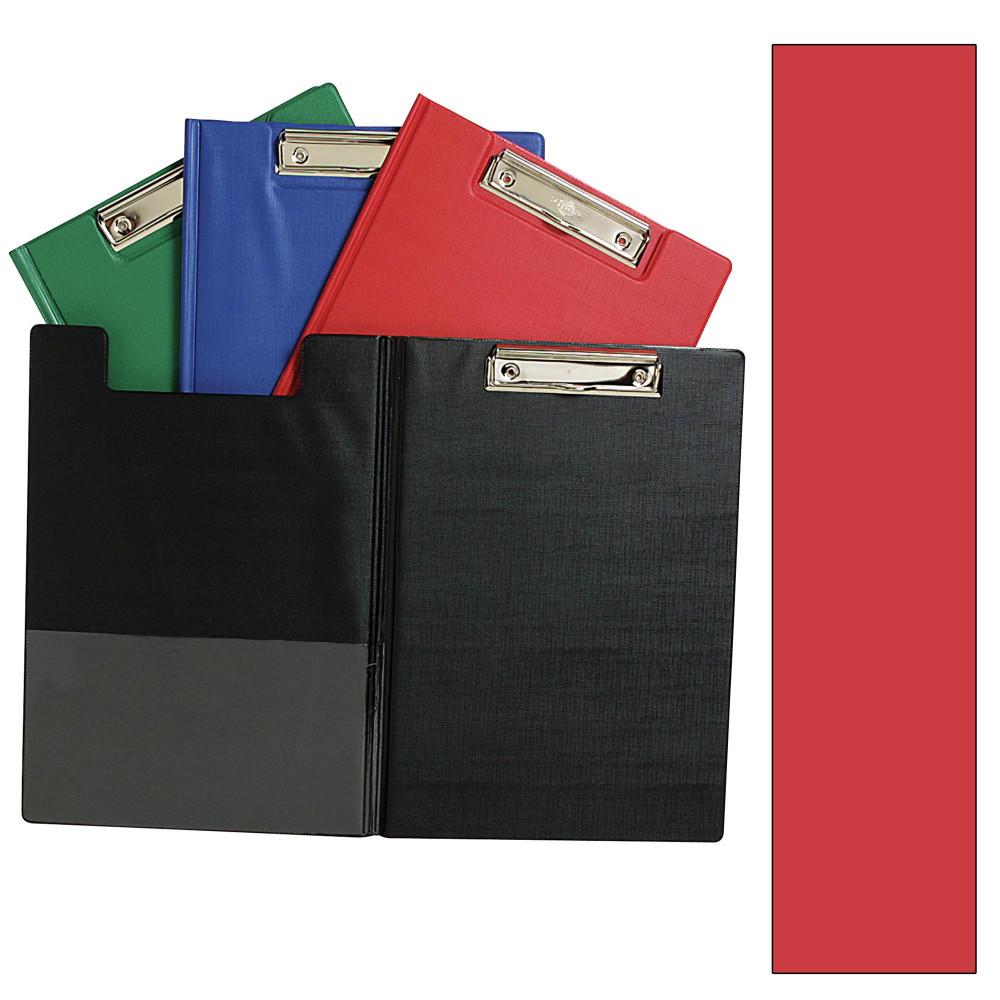 MARBIG PVC CLIPFOLDERS A4 Red
