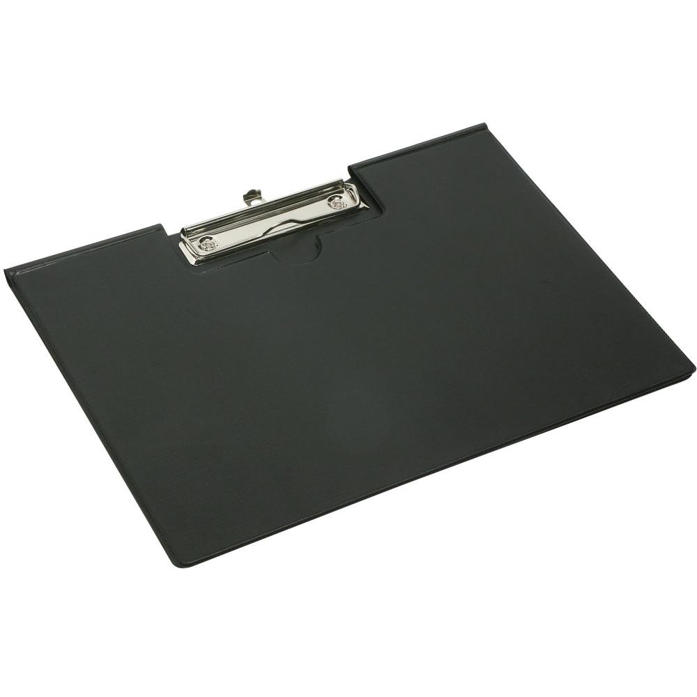 MARBIG CLIPFOLDER LANDSCAPE A4 Black