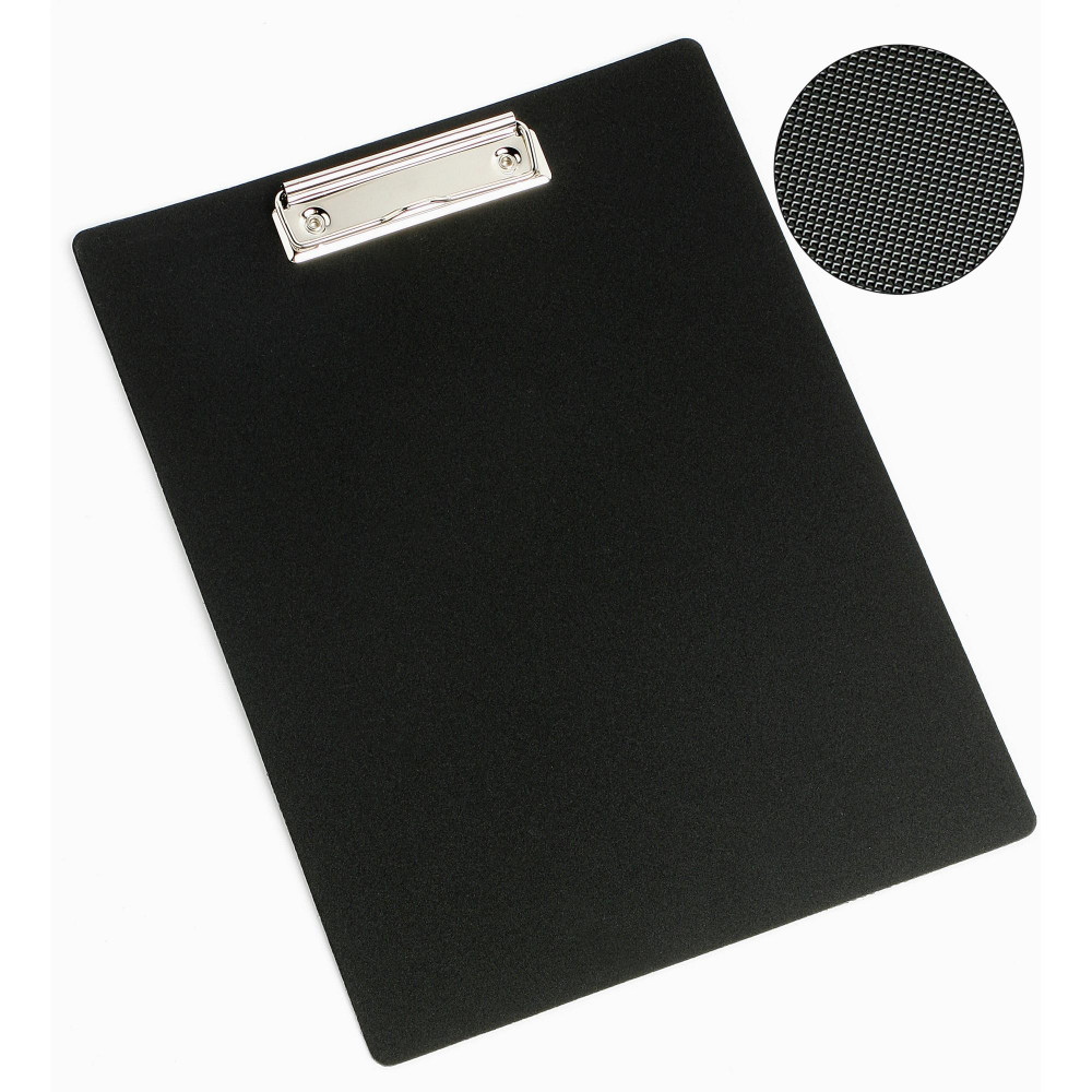 MARBIG ENVIRO CLIPBOARD A4 100% Recycled PP Black