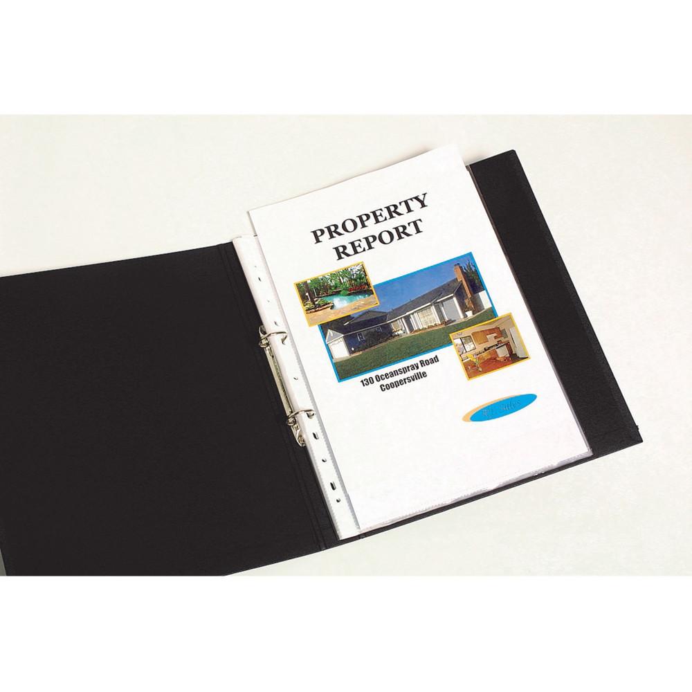 MARBIG COPYSAFE SHEET PROTECTOR Economy A4 Low Glare Bx300