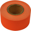 RAINBOW STRIPPING ROLL RIBBED 50mmx30m Orange