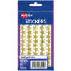 AVERY STICKER HANDIPACKS Small Gold Stars B/Pack Pack of 90