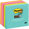 POST-IT MIAMI 654-5SSMIA Super Sticky Notes-75mmx75mm 90 sheets, 5 pack
