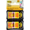 POST-IT  680-SH2 FLAGS Twin Pk Sign Here Yellow 25x43