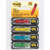 POST-IT 684-SH FLAGS Sign Here 12x43 Red Blue Yellow Green 120 Pack