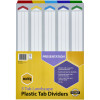 MARBIG COLOURED DIVIDERS A3 1-5Tab Board L/Scape Asst