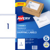 AVERY L7167 SMOOTH FEED LABEL Laser 1/Sht 199.6x289.1mm