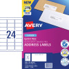 AVERY L7159 MAILING LABELS Laser 24/Sht 64x33.8mm
