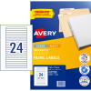 AVERY L7170 FILING LASER LABEL File Spine 24/Sht 134x11mm