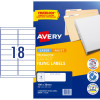 AVERY L7172 FILING LASER LABEL Ring Binder 100x30mm