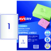 AVERY L7567 CLEAR LASER LABELS Quick Peel 1/Sht 199.6x289.1mm