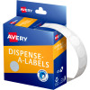 AVERY DMC14W DISPENSER LABEL Circle 14mm White