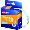 AVERY DMR1024W DISPENSER LABEL Rectangle 10x24mm White