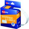 AVERY DMR1324W DISPENSER LABEL Rectangle 13x24mm White