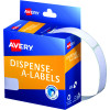 AVERY DMR1349W DISPENSER LABEL Rectangle 13x49mm White