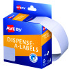 AVERY DMR2449W DISPENSER LABEL Rectangle 24x49mm White