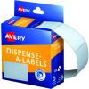 AVERY DMR3549W DISPENSER LABEL Rectangle 35x49mm White