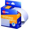 AVERY DMR4463W DISPENSER LABEL Rectangle 44x63mm White