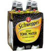 SCHWEPPES TONIC WATER 300ml Glass Pack of 4