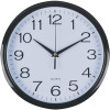 Italplast Wall Clock Black Trim