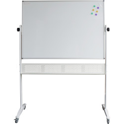 RAPIDLINE MOBILE WHITEBOARD 1800mm W x 1200mm H x 15mm T White