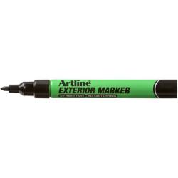 ARTLINE EXTERIOR PERMANENT Marker Black Pack of 12
