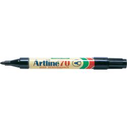 ARTLINE 70 PERMANENT MARKERS Med Bullet  Black