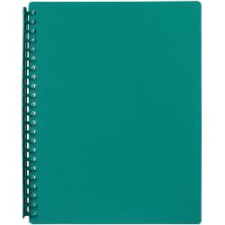 MARBIG REFILLABLE DISPLAY BOOK A4 20 Pocket Green