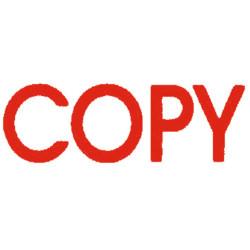 DESKMATE PRE INK STAMP COPY Red C01A