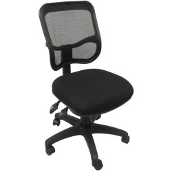 MESH OPERATOR CHAIR Black mesh back