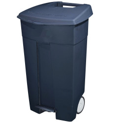 WHEELIE BIN WITH PEDAL 120 Litre Dark Grey