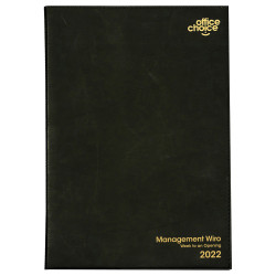 OFFICE CHOICE MANAGEMENT DIARY A5 1 Day to a Page 1 Hr 7am - 7pm
