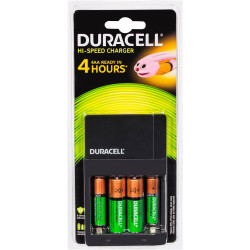 DURACELL BATTERY CHARGER All-In-One Rechargeable,AA/AAA