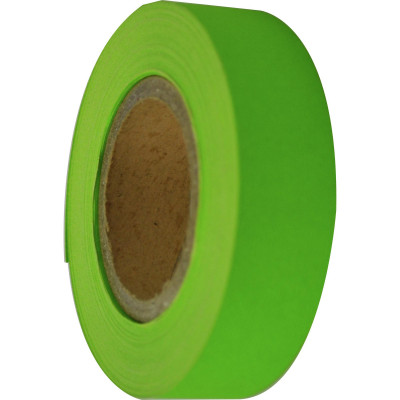 RAINBOW STRIPPING ROLL RIBBED 25mmx30m Lime