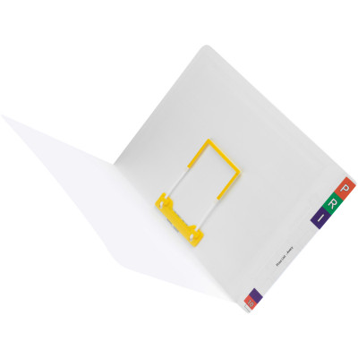 AVERY LATERAL NOTES FILES A4 With Tubeclip Standard Wht