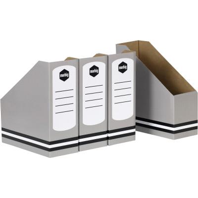 MARBIG MAGAZINE HOLDERS Standard Grey