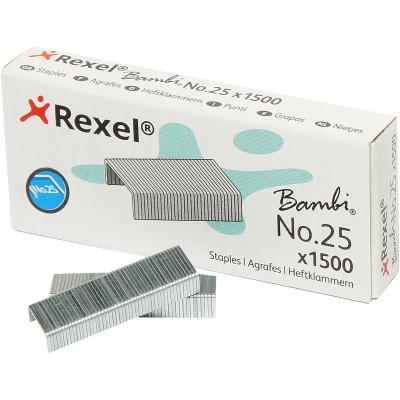 REXEL STAPLES No.25 Bambi BX1500