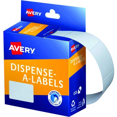AVERY DMR2432W DISPENSER LABEL Rectangle 24x32mm White