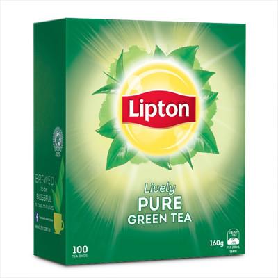LIPTON TEA BAGS Green Tea PK100